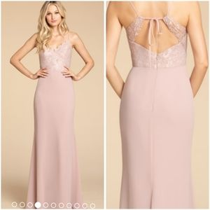 Hayley Paige Dusty Rose Gown